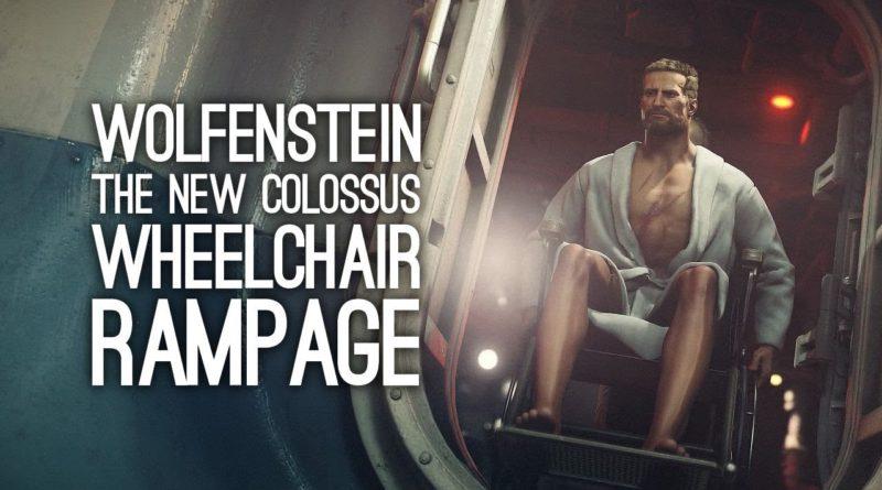Wolfenstein 2: The New Colossus - первый Speedrun