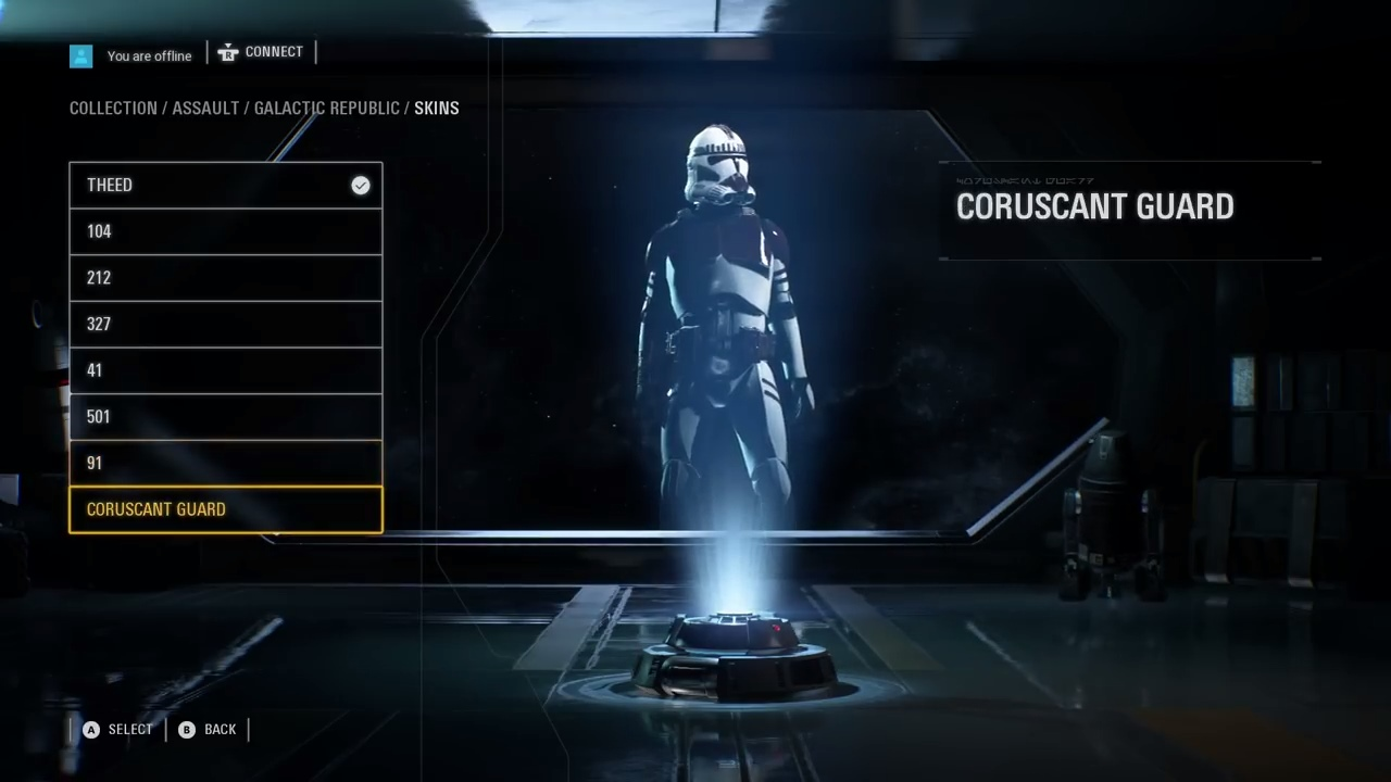 Star Wars Battlefront II — Редактор персонажей