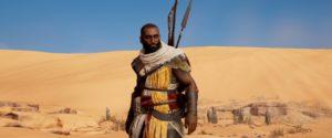 Assassin's Creed Origins - внешность своего Байека