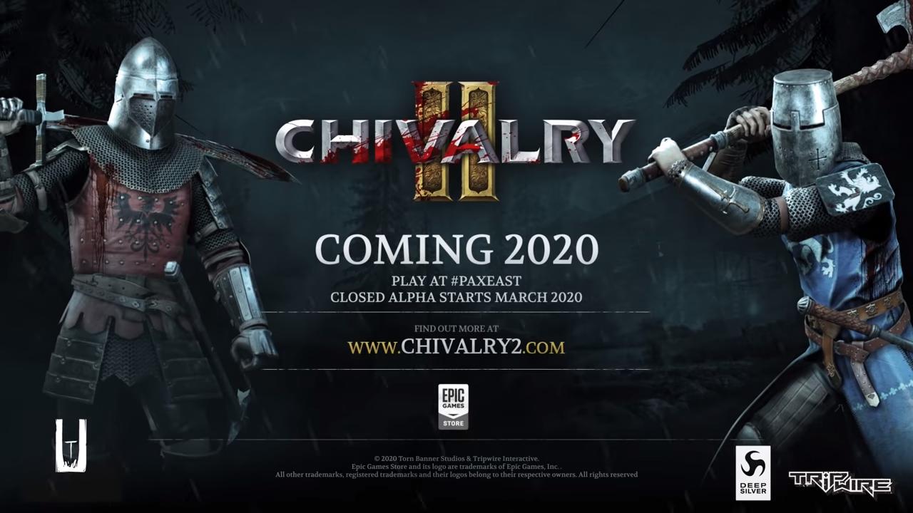 Трейлер Chivalry 2 — завязка повествования