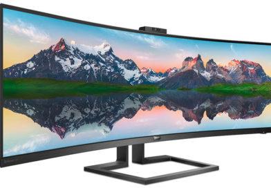 Разрешение гигантского монитора Philips 498P9 составит 5120 × 1440 точек